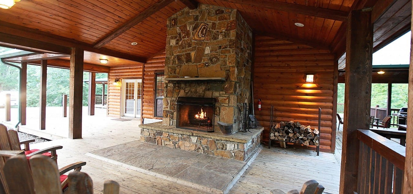 Broken bow lake cabin rentals fireplaces and fire pits teraionfo