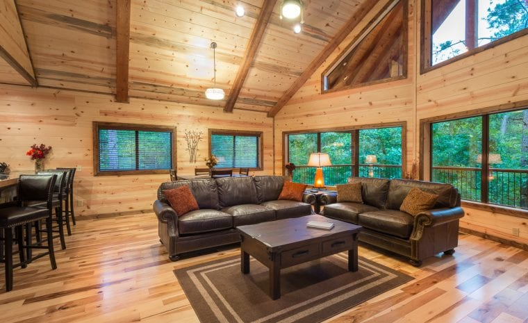 Broken Bow Lake Cabin Rentals 187 Crystal Ridge Spa Cabin
