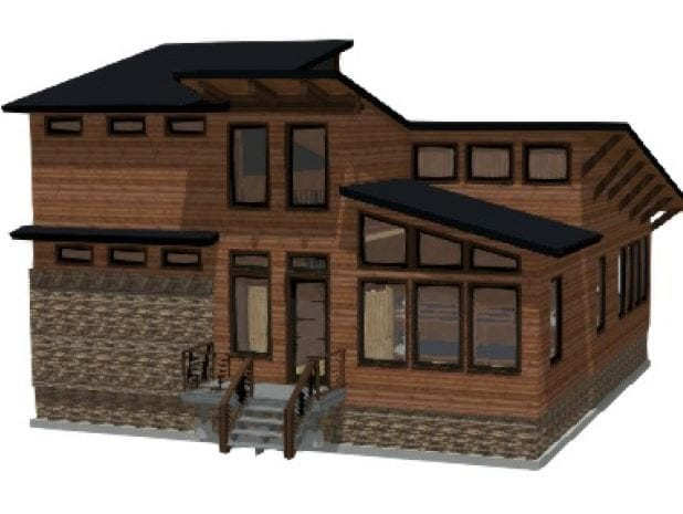 New Cabin Front
